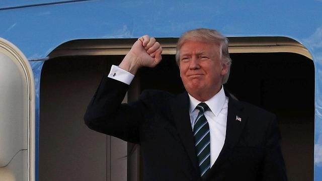 The United States is not viewed as favorably as it was under President Obama, but Donald Trump's image is even worse, according to a new Pew Research Center study.