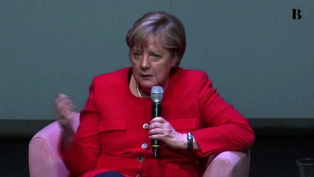 Angela Merkel drops opposition to same-sex marriage. Video provided by AFP