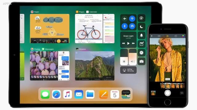 USA TODAY'S Ed Baig looks at 11 new features in Apple's new IOS11 public beta