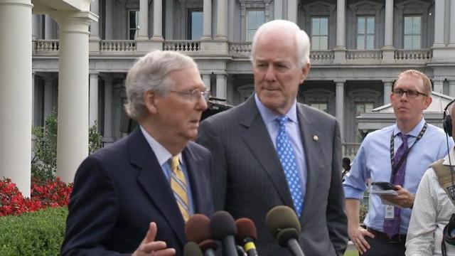 Senators Meet With Trump on Health Care