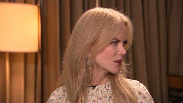 Nicole Kidman says she considered giving up acting when pregnant with her daughter Sunday Rose, but her mother convinced her to keep going. (June 27)