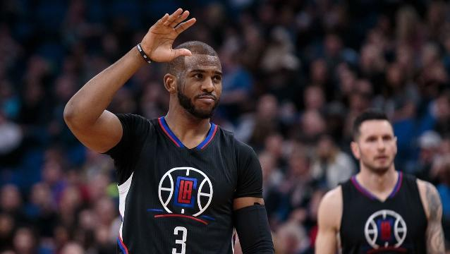 Clippers trading Chris Paul to Houston