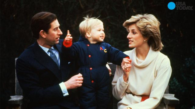 Will, Kate and Harry visit Princess Diana's grave on her birthday
