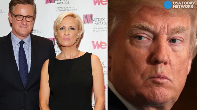 Trump's twitter attack on 'Morning Joe' hosts