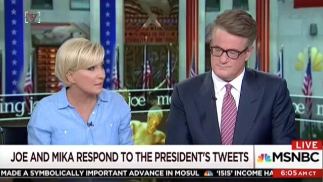 Mika and Joe respond to Trump's tweet: 'Donald Trump is not well'