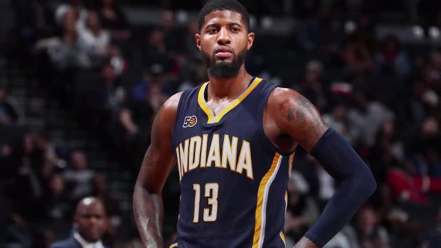8842172afbf4 Paul George  Kevin Durant gave advice on what to expect with Thunder