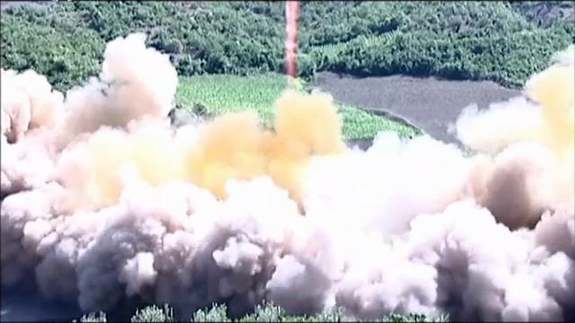 Raw: North Korean video shows ICBM launch