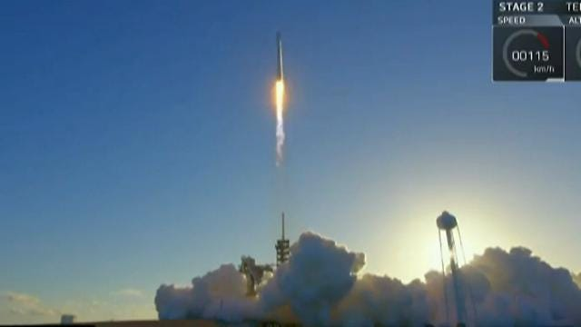 SpaceX Rocket launches from Cape Canaveral