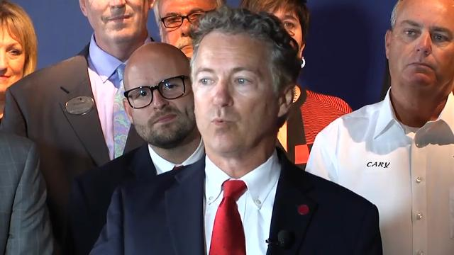 Sen. Rand Paul holds town hall on health care