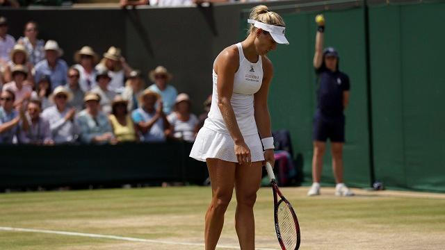 Angelique Kerber loses at Wimbledon, making room for new No. 1