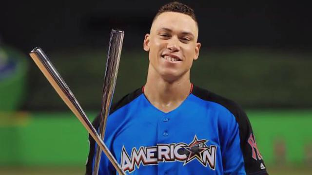 543d5d651 Twitter goes nuts for Aaron Judge s HR Derby performance
