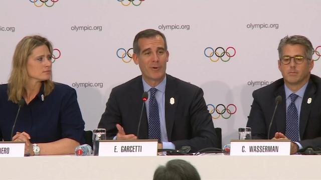 Los Angeles Presents Olympic Bid, Aims for 2024