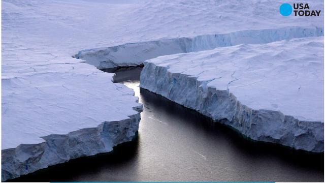Enormous iceberg breaks off Antarctica