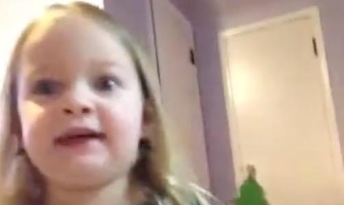 Little girl's most hilarious moments go viral