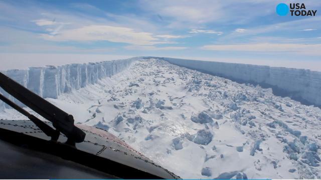 Delaware-sized iceberg breaks free from Antarctica