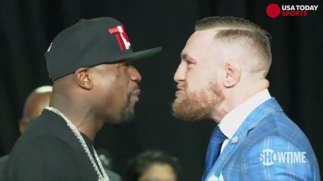 Just when you thought you'd seen it all in Los Angeles, Floyd Mayweather and Conor McGregor upped the game in Toronto for day two of their international press tour.