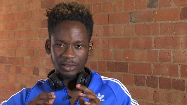 Mr Eazi's first memories of music were from his often-absent pilot father