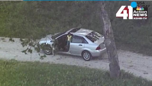 News chopper spots missing 3-year-old in stolen car