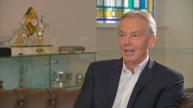 Blair: 'Necessary' that Brexit doesn't happen