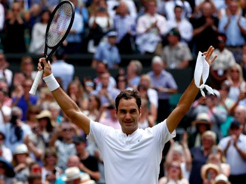 Roger Federer now holds the record for the most Wimbledon championships in history after beating Marin Cilic on Sunday.