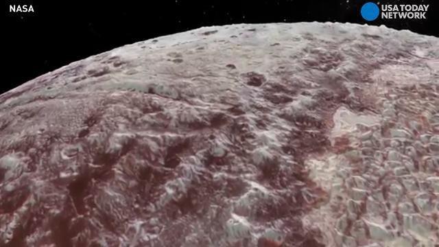 NASA shares spectacular flyover view of Pluto