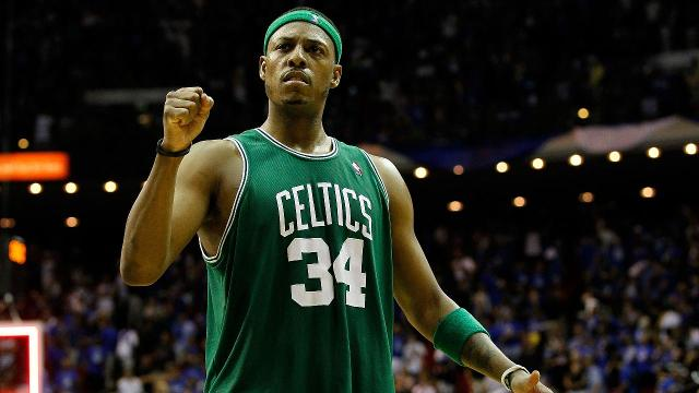 Paul Pierce signs with Boston to retire as a Celtic