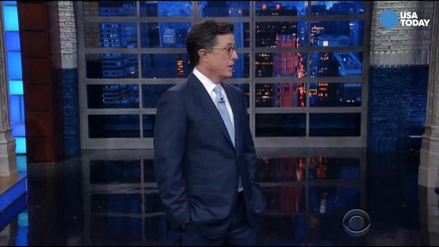 Kimmel, Meyers and Colbert on 'Made in America'