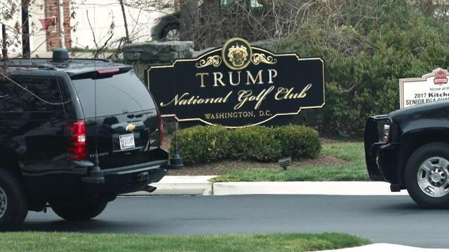 Coast Guard plans to block off Potomac River for Trump's golfing