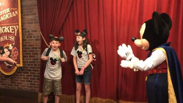 Mickey surprises kids with adoption day at Disney World