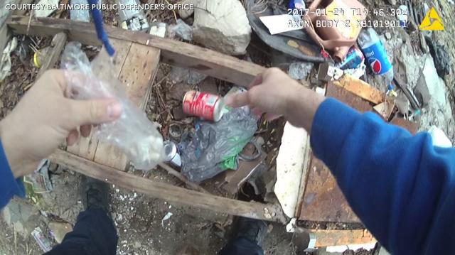 Attorneys: Video shows Baltimore police planting drugs