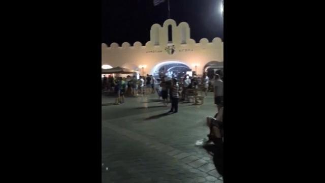 Raw: Massive Earthquake Strikes Greek Island Kos