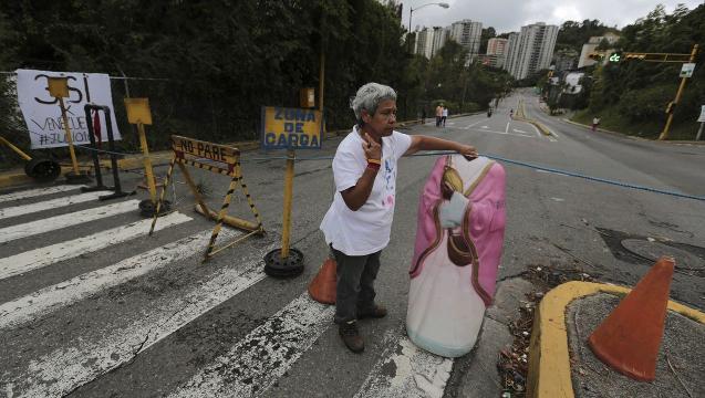 Protesters, Police Clash Amid Venezuela Strike