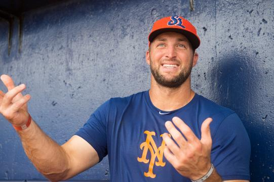 Can Tebow actually make it to the majors?