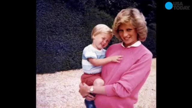 New Princess Diana photos posted on Twitter