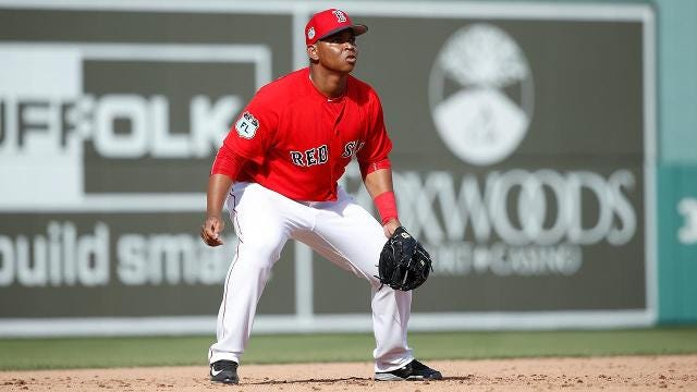 Red Sox Promote Top Prospect Rafael Devers to Majors