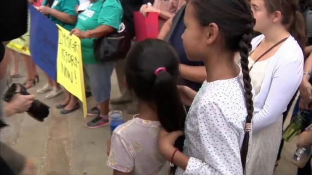 Raw: Vigil in San Antonio for truck victims