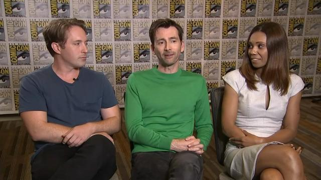 Tennant: 'Doctor Who' 'lucked out' with Whittaker
