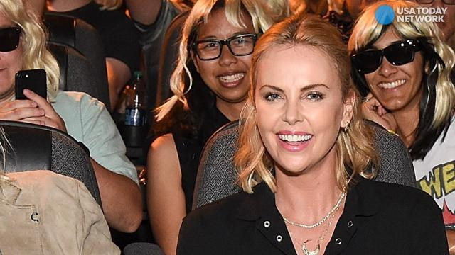 Charlize Theron speaks out for women at Comic Con