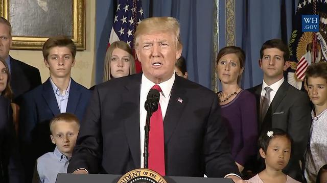 Trump: Obamacare is a 'nightmare'