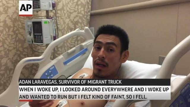 Survivor of Migrant Truck Speaks from Hospital