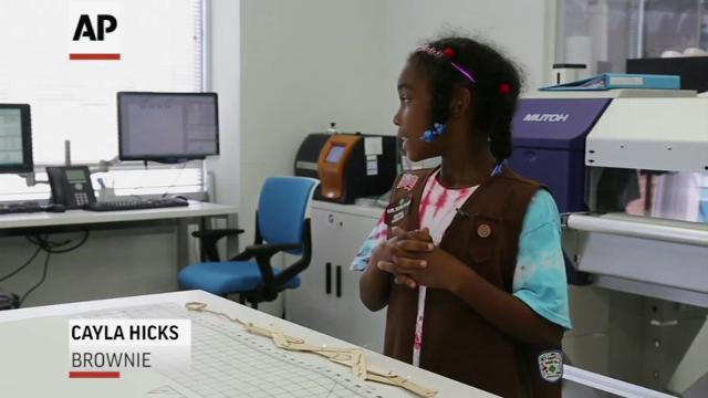 Girl Scouts Unveil New STEM and Outdoor Badges