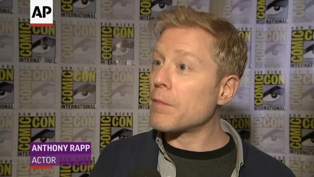 Rapp 'proud' to play gay 'Star Trek' character