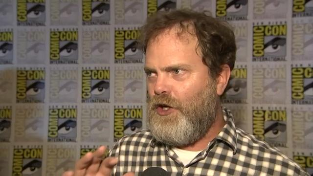 Rainn Wilson: 'I got to fire a phaser!'