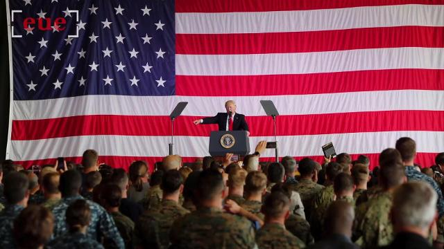 A Look at the Numbers: President Trump's military transgender ban