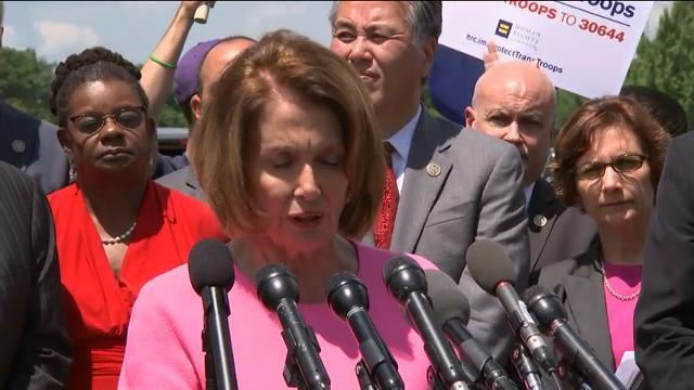 House Democrats Slam Trump Transgender Ban