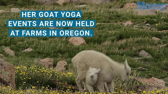 Yoga classes with goats are now selling out across the country