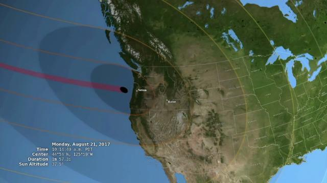 Businesses Cashing in on Solar Eclipse Watchers