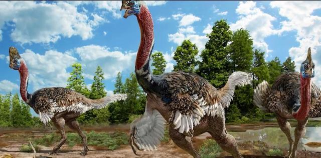 Newly discovered dinosaur species resembles an ugly bird