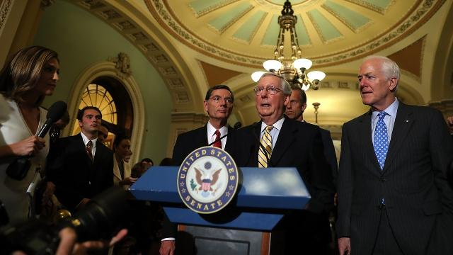 Senate Republicans set their sights on a 'skinny repeal'