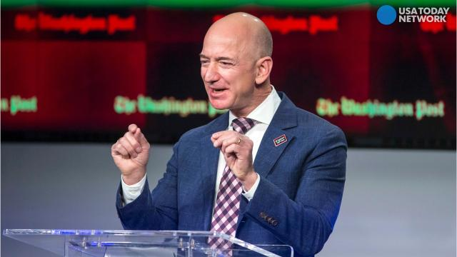 For a moment, Amazon's CEO became the richest person